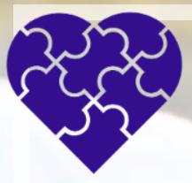 Genetic heart representing cardiomyopathy health
